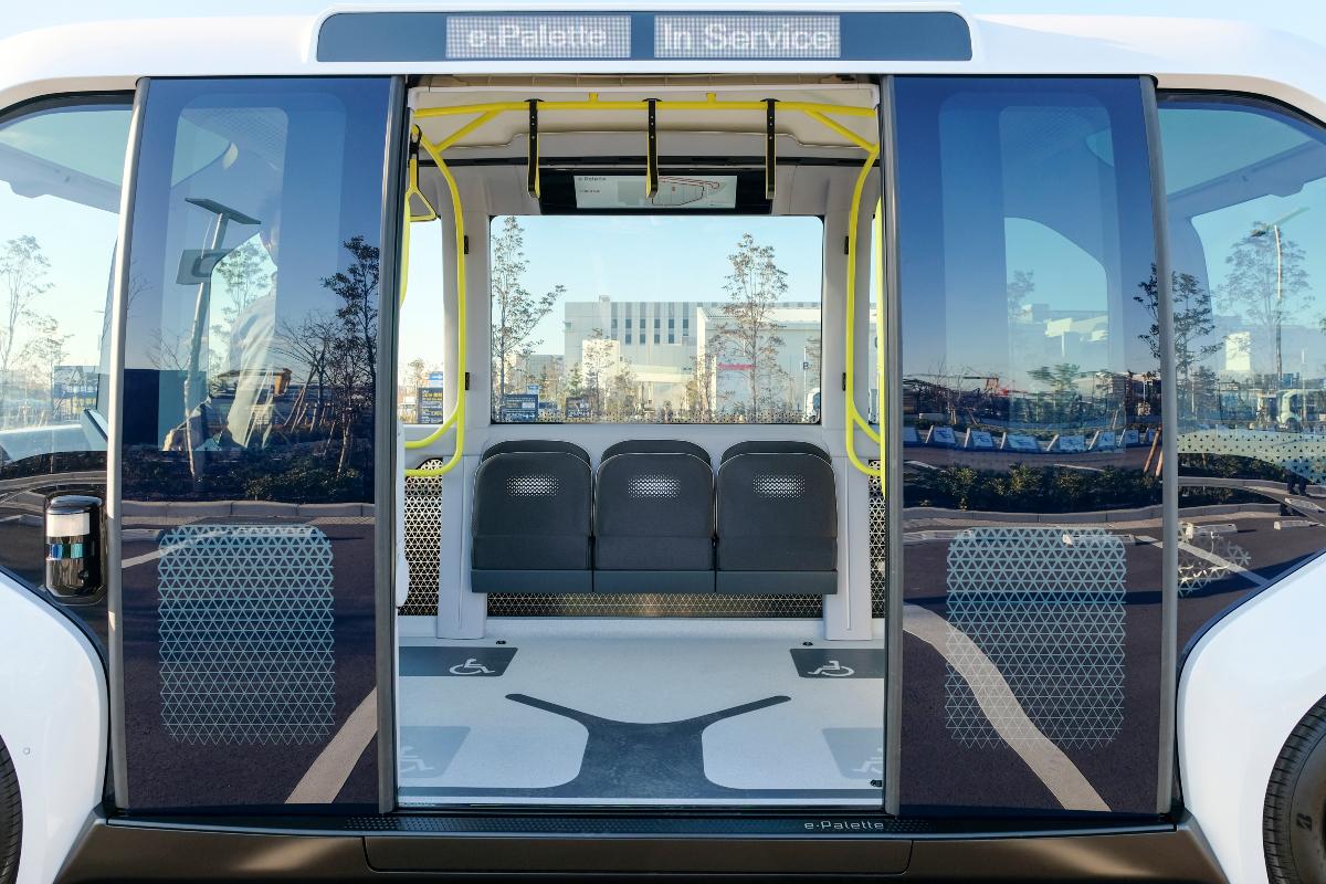 Toyota e Palette autonomous electric vehicle 2