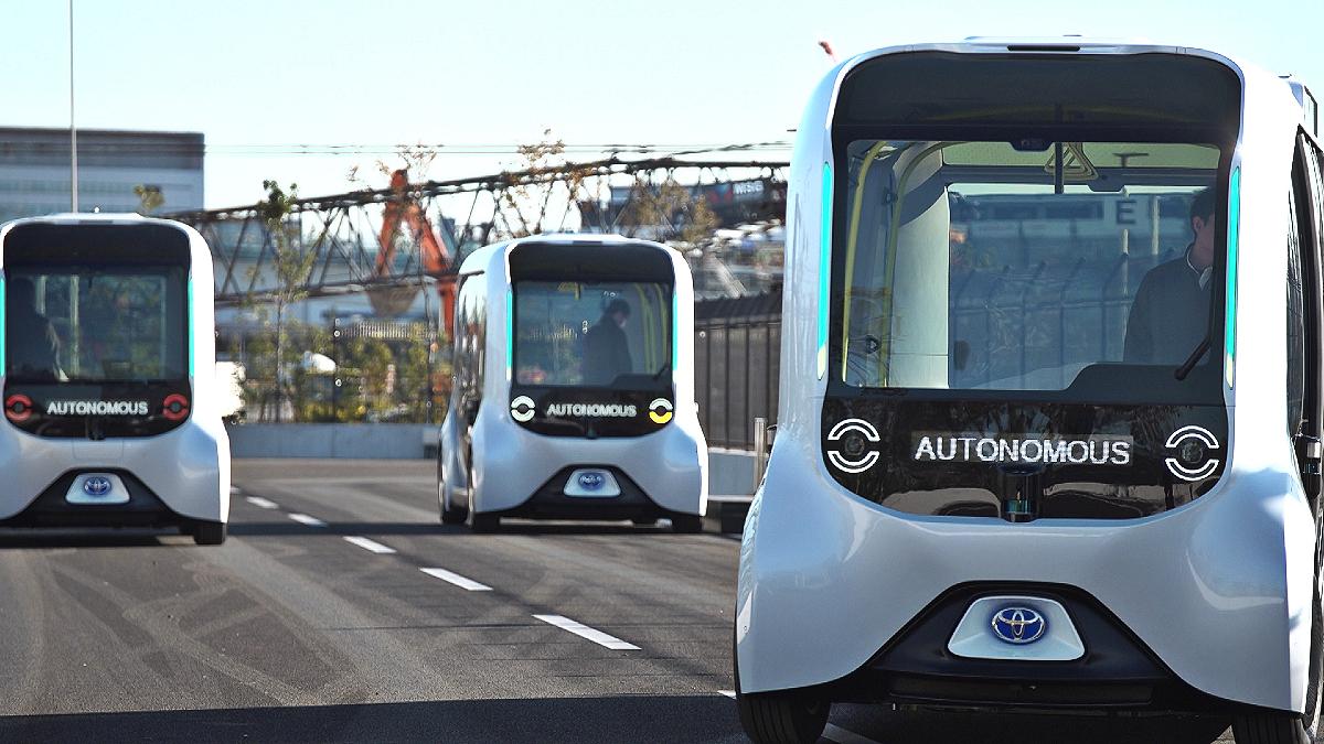Toyota e Palette autonomous electric vehicle 3