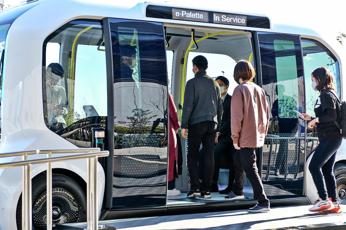 Toyota e Palette autonomous electric vehicle 4