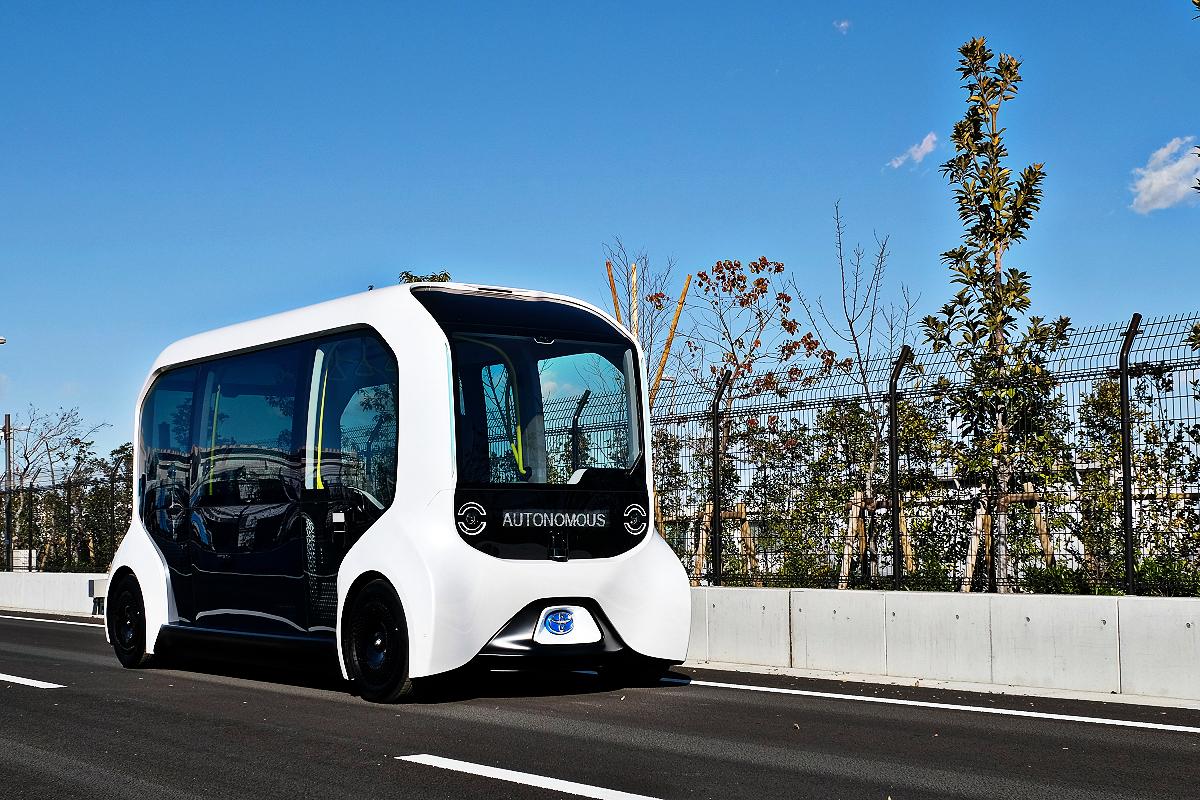 Toyota e Palette autonomous electric vehicle 7