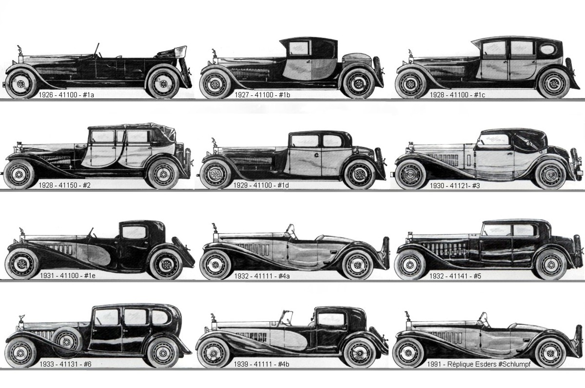 1930 Bugatti Royale Berline de Voyage 4