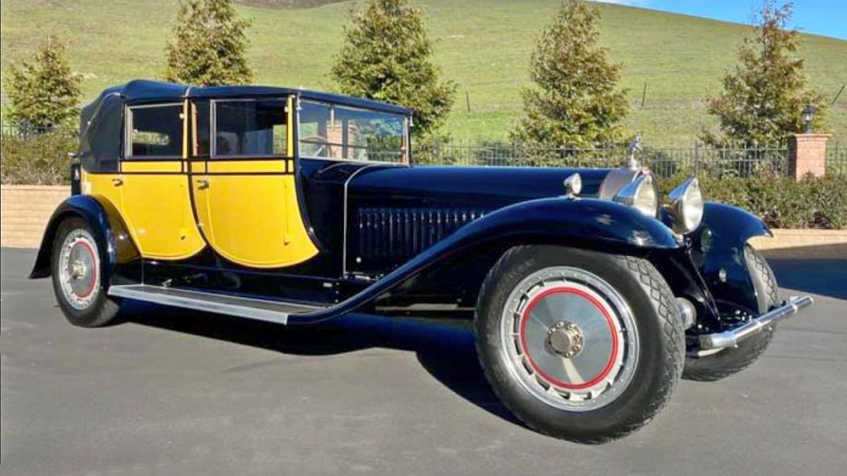 1930 Bugatti Royale Berline de Voyage