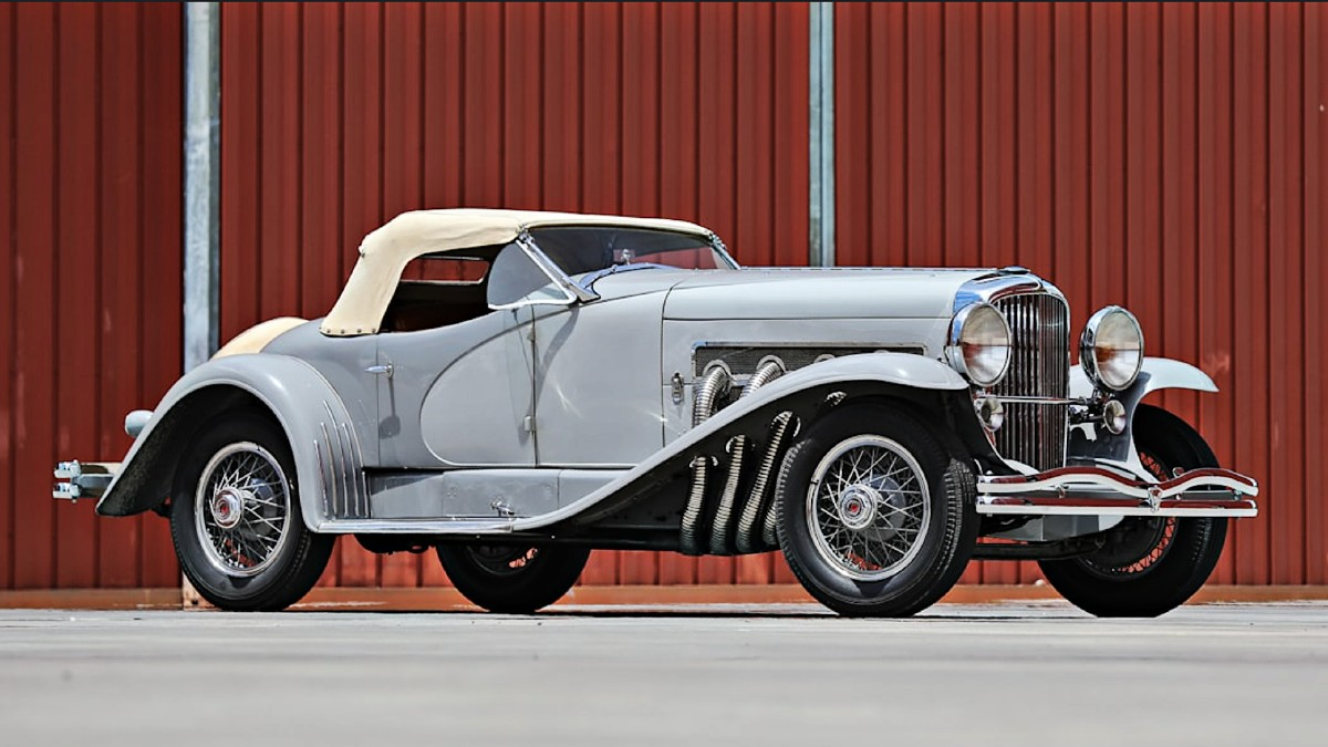 1935 Duesenberg SSJ once owned by Gary Cooper