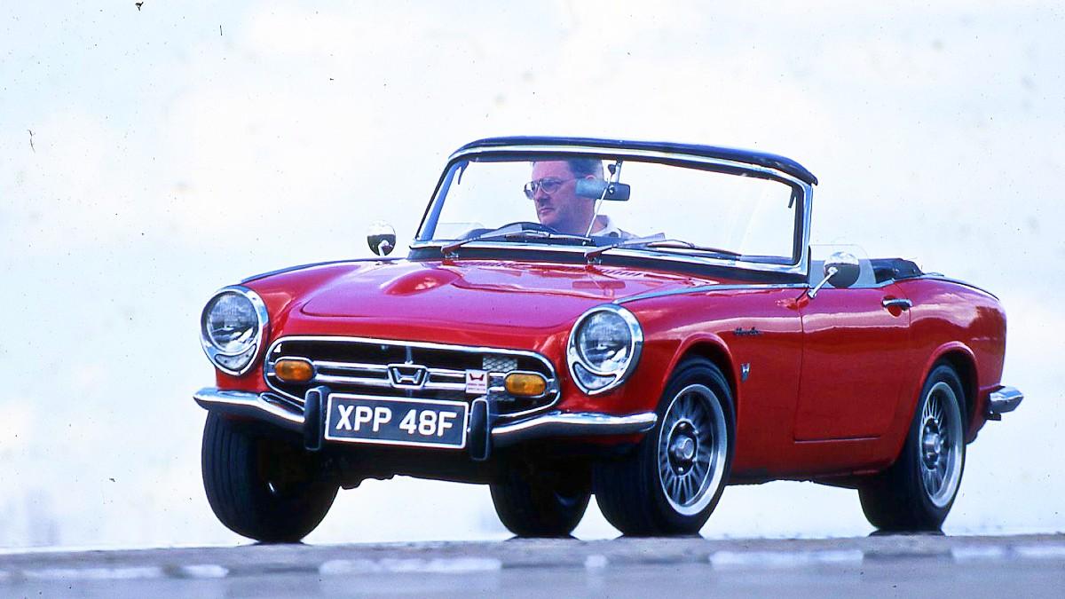 1966 Honda S800 sports car 1