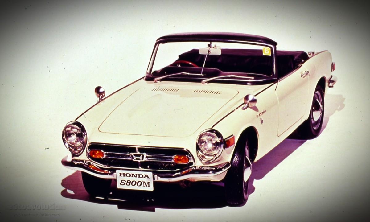 1966 Honda S800 sports car 19