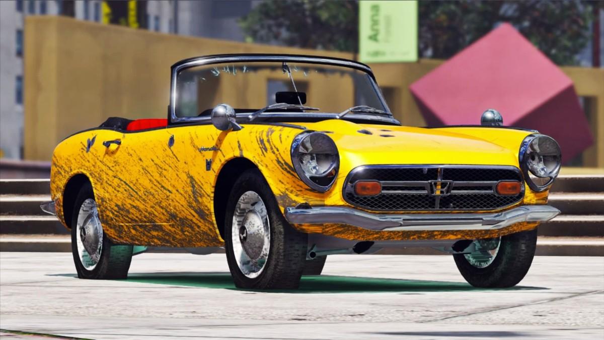 1966 Honda S800 sports car 21
