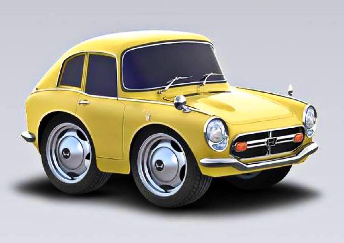 1966 Honda S800 sports car 25
