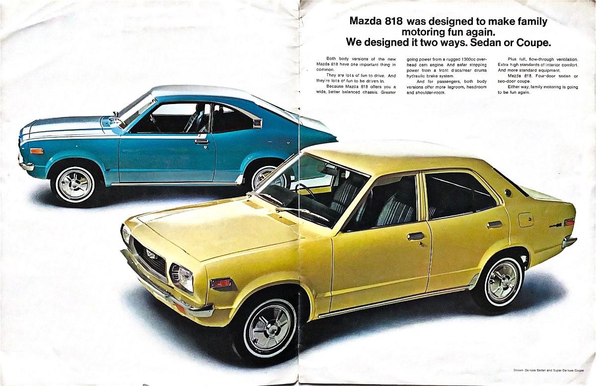 1970s Mazda RX 3 14