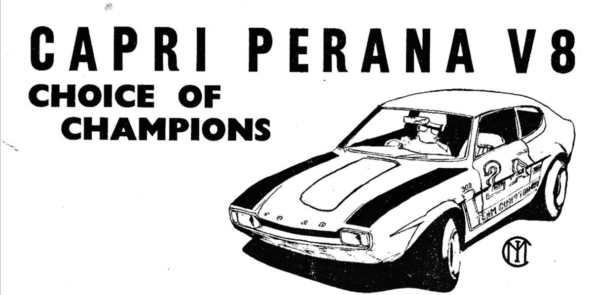 1972 Ford Capri V8 Perana 14