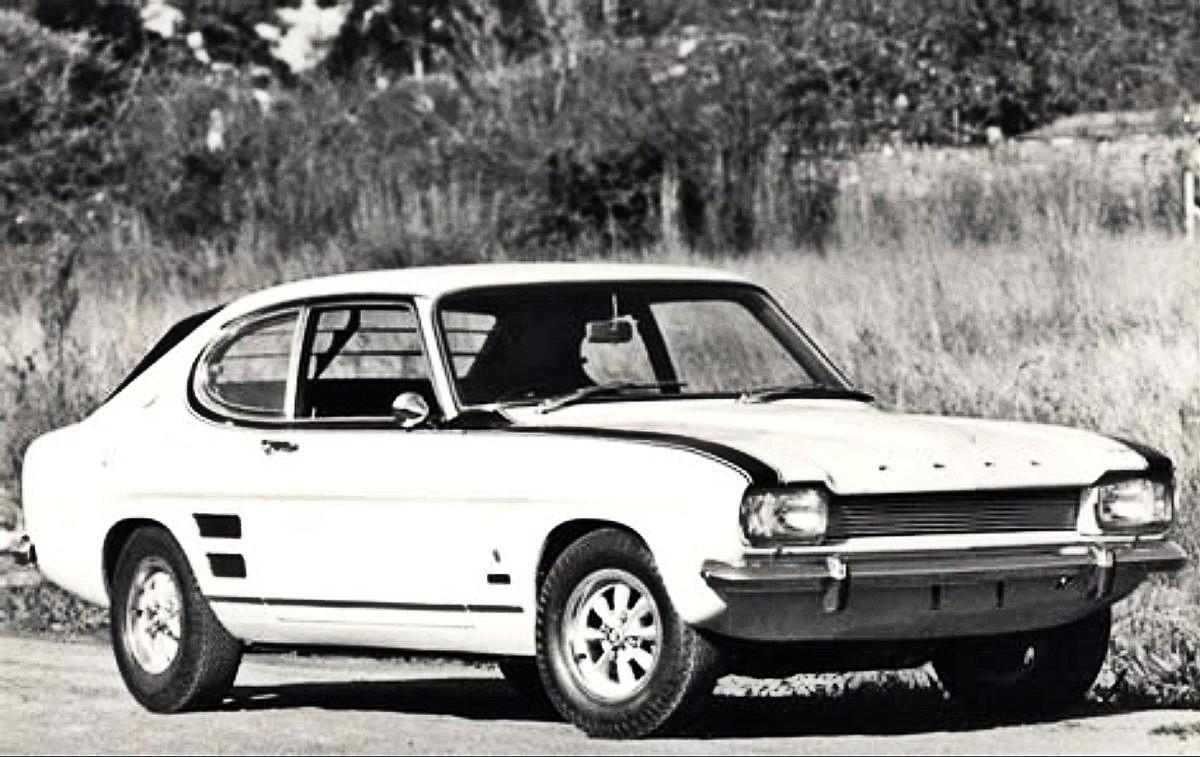 1972 Ford Capri V8 Perana 16