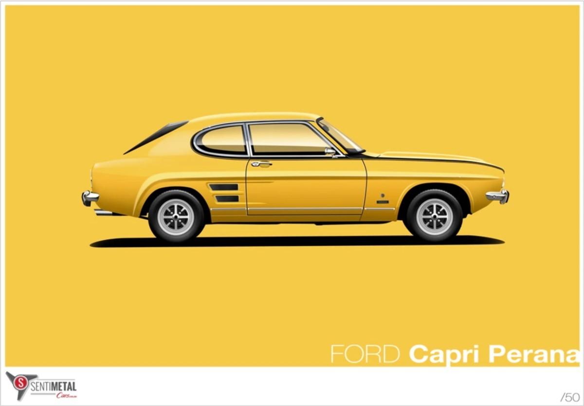 1972 Ford Capri V8 Perana 17