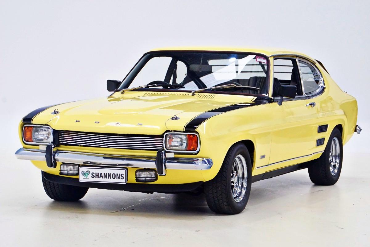 1972 Ford Capri V8 Perana 44
