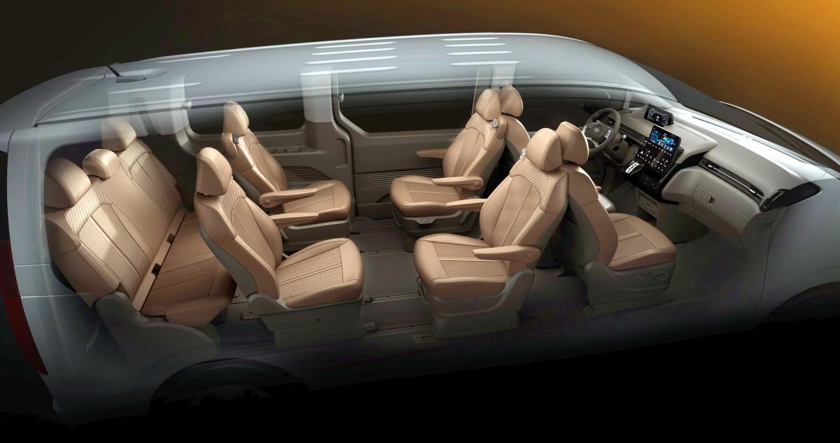 2021 Hyundai Staria Premium people mover 1