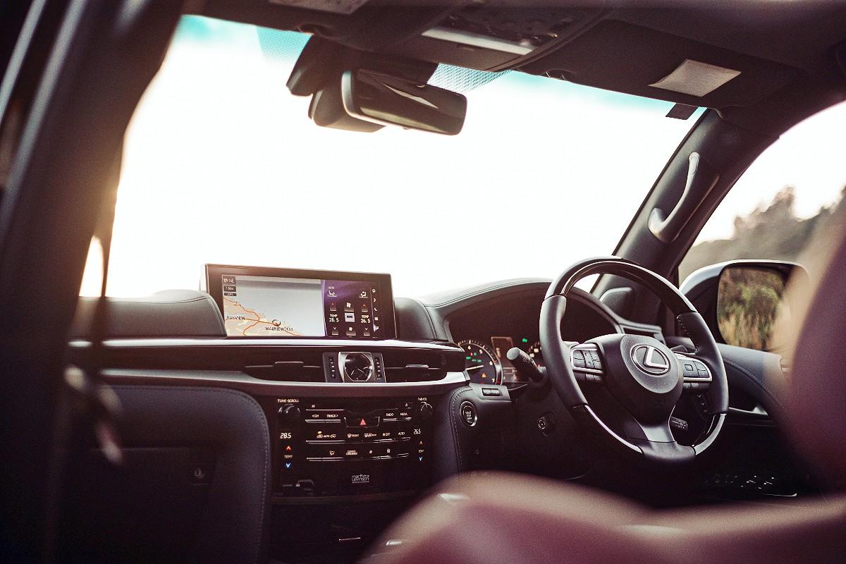 2021 Lexus LX 570 S 3