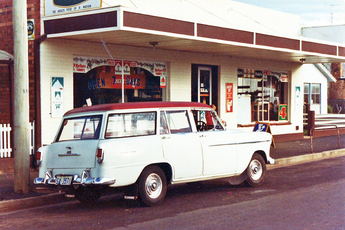 FE Holden Special Station Wagon circa 1958
