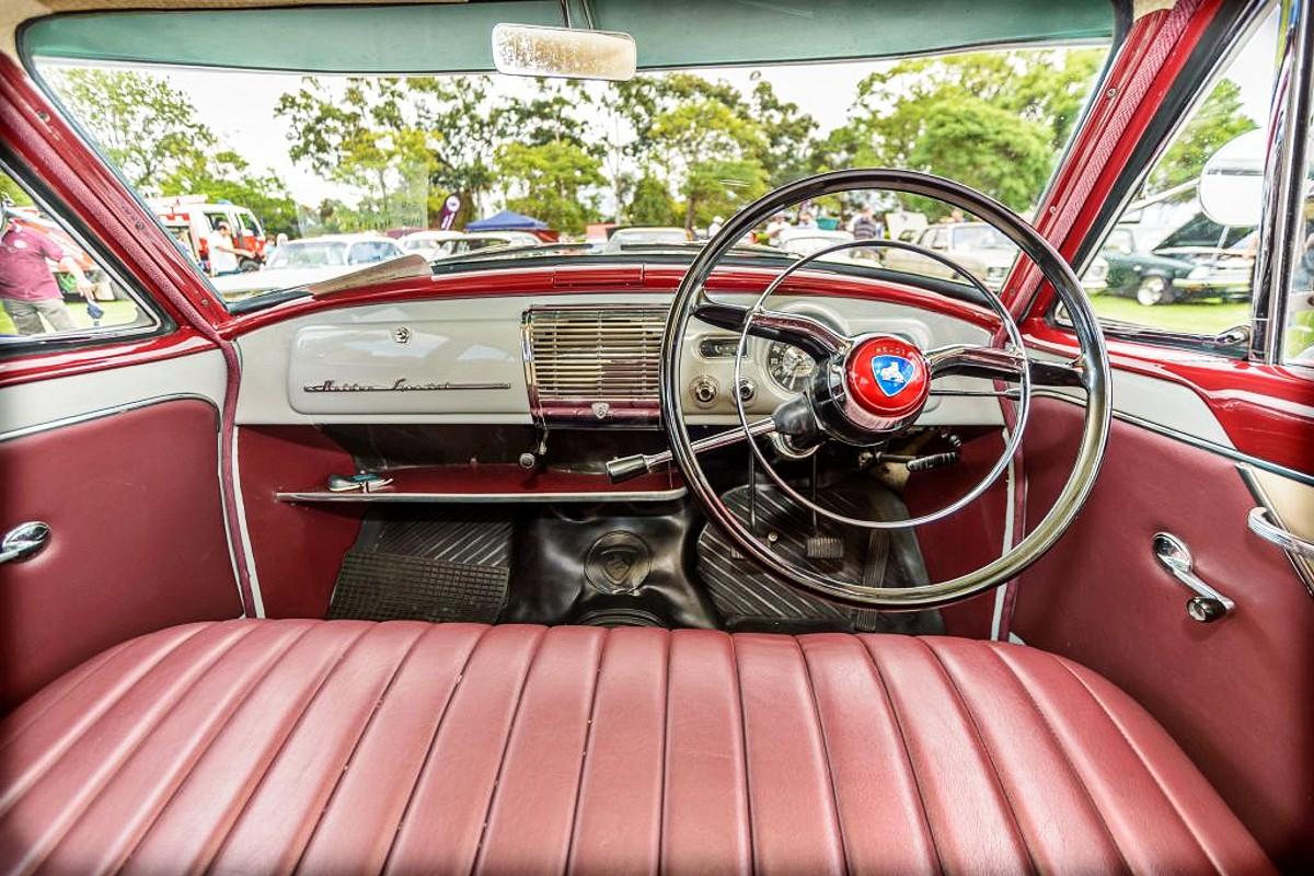 FE Holden Special interior