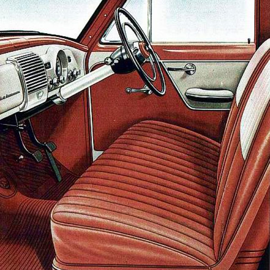 FE Holden interior