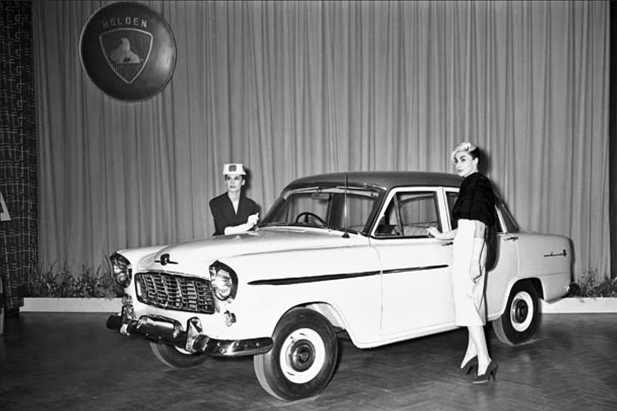 FE Holden launch