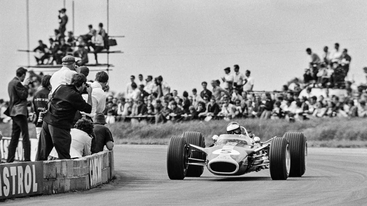 GP winning 1967 Lotus Type 49