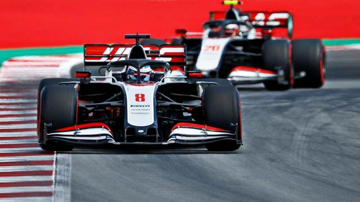 Haas F1 cars