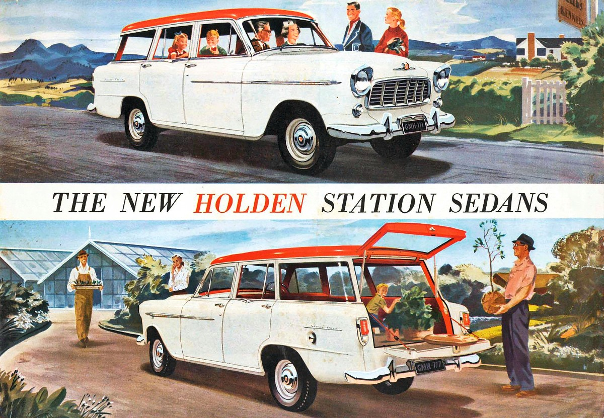Holden FE Station Wagons