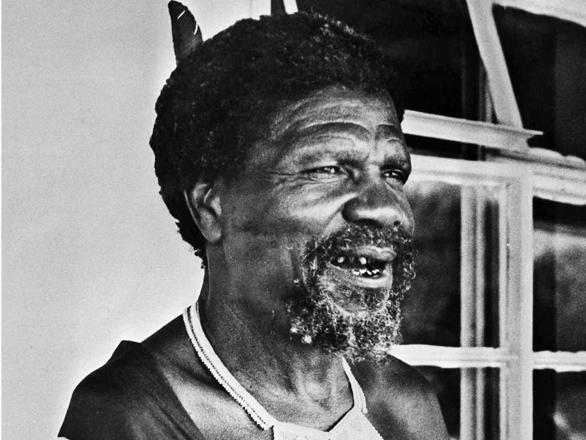 King Sobhuza II