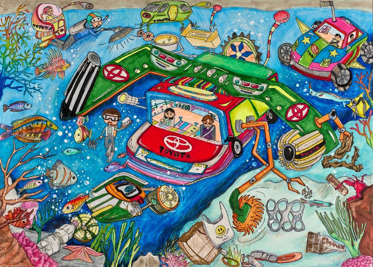 Ocean Eco Car by Brendan Park