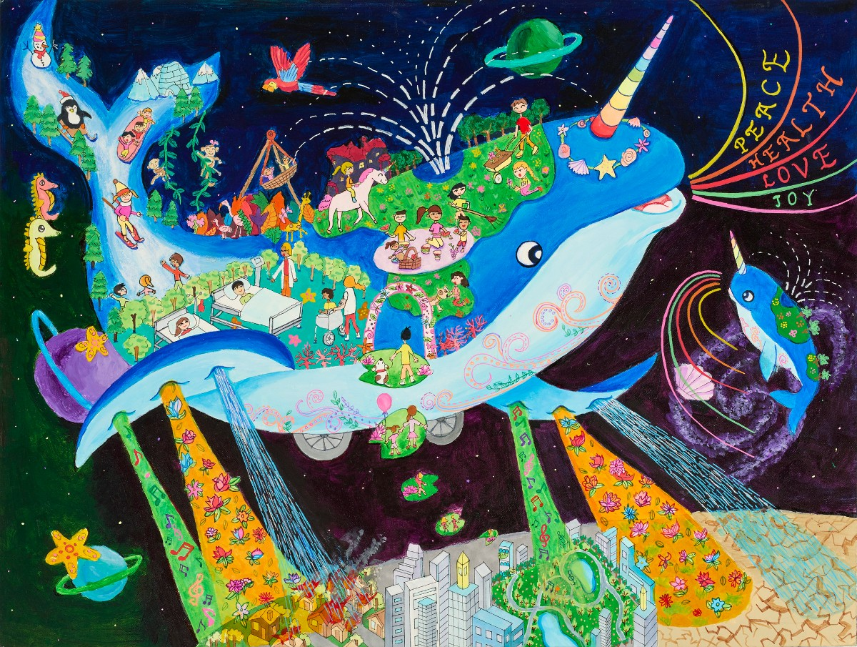 The Nar Whale Car by Grace Sun