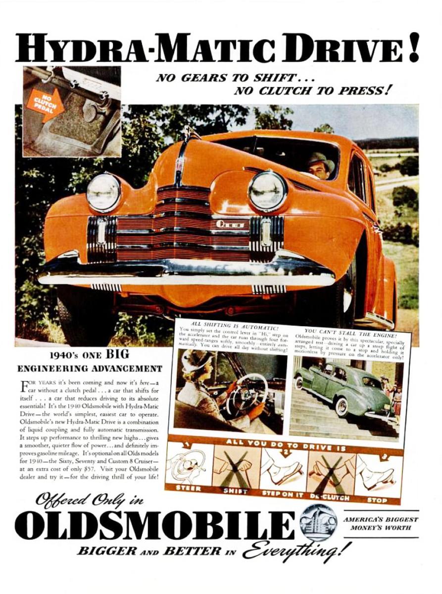 1940 Oldsmobile HydraMatic
