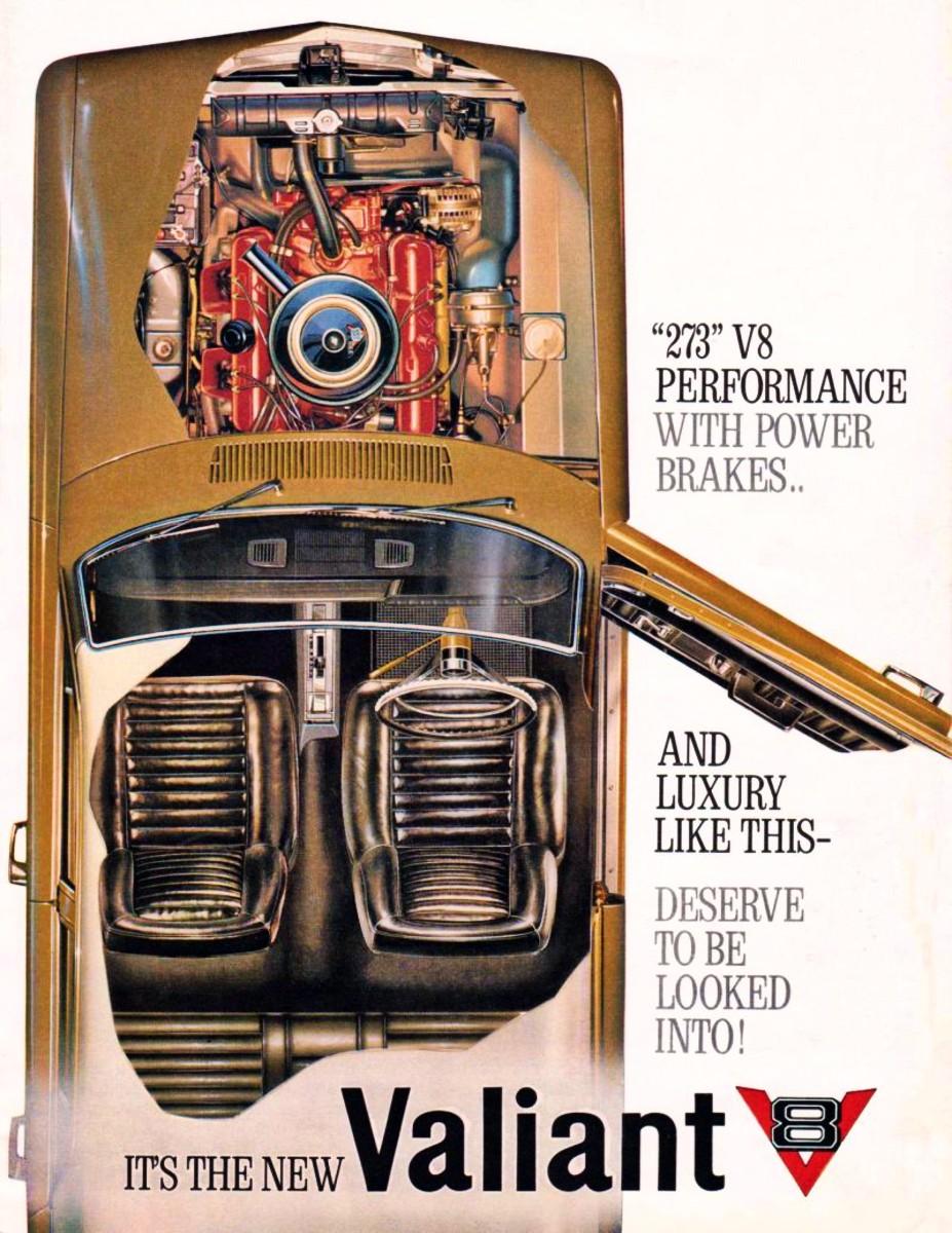 1965 Valiant V8 with floor auto shift