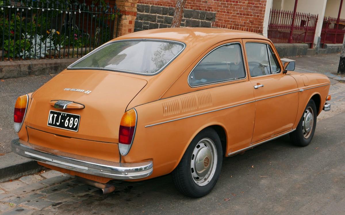 1970 Volkswagen 1600 fastback