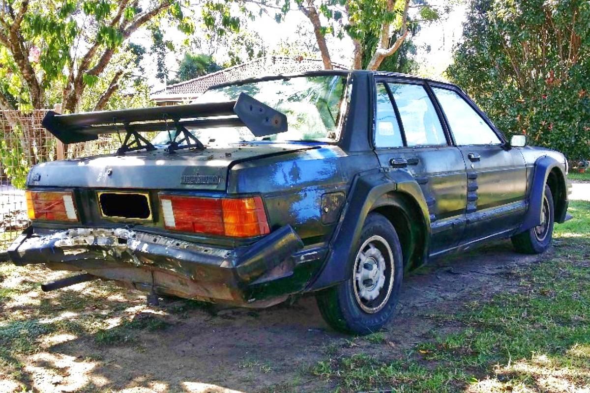1980s Nissan Bluebird TR X sedan 12
