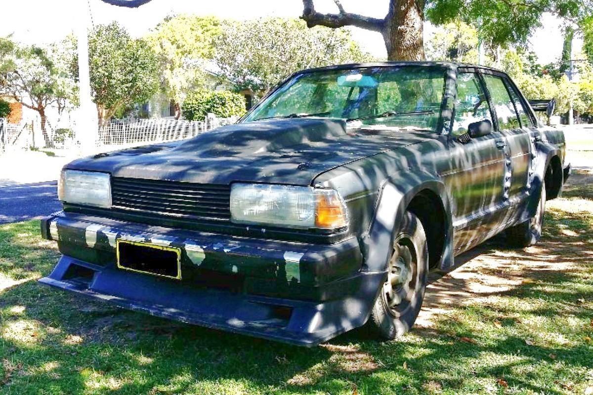 1980s Nissan Bluebird TR X sedan 13