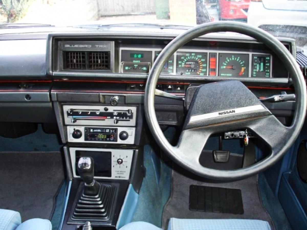 1980s Nissan Bluebird TR X sedan 4