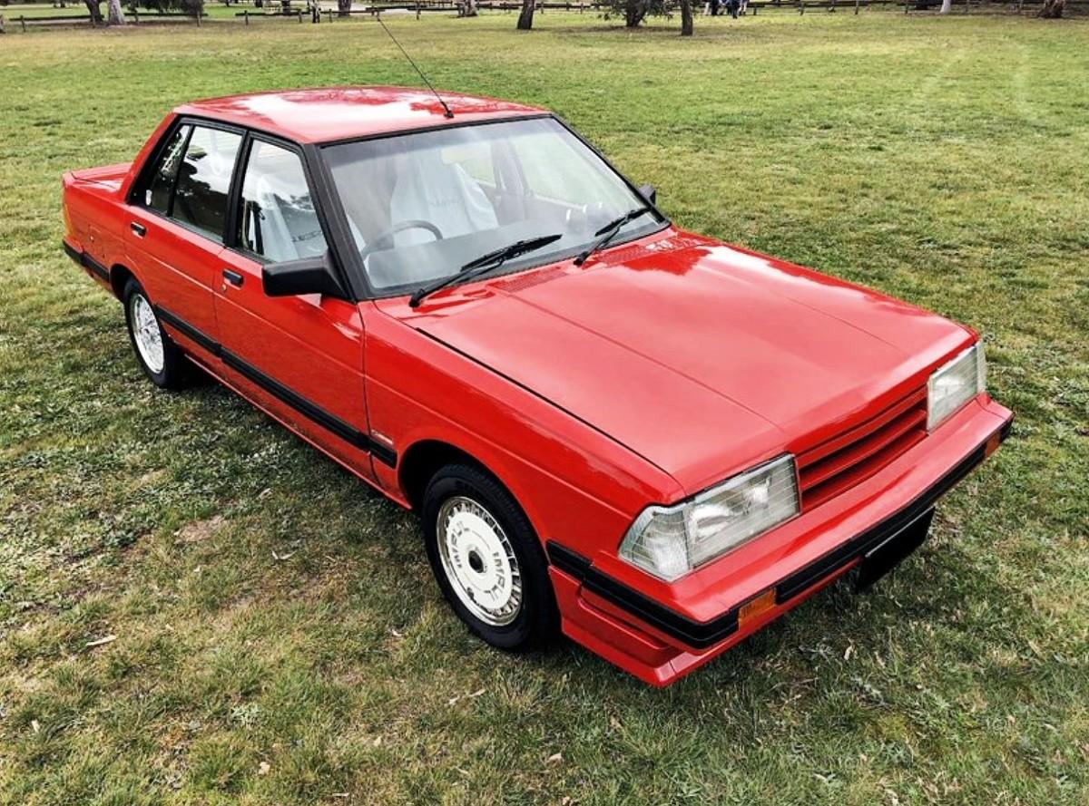 1980s Nissan Bluebird TR X sedan 5