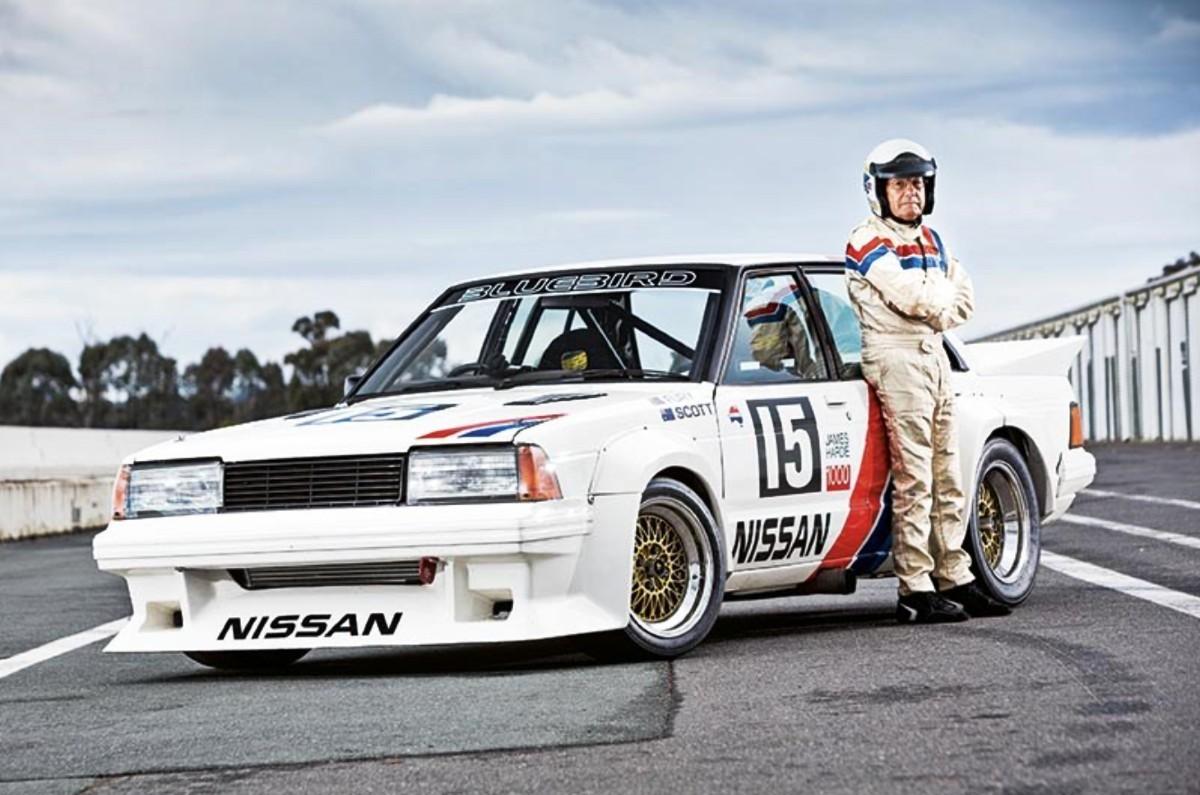 1980s Nissan Bluebird TR X sedan 8
