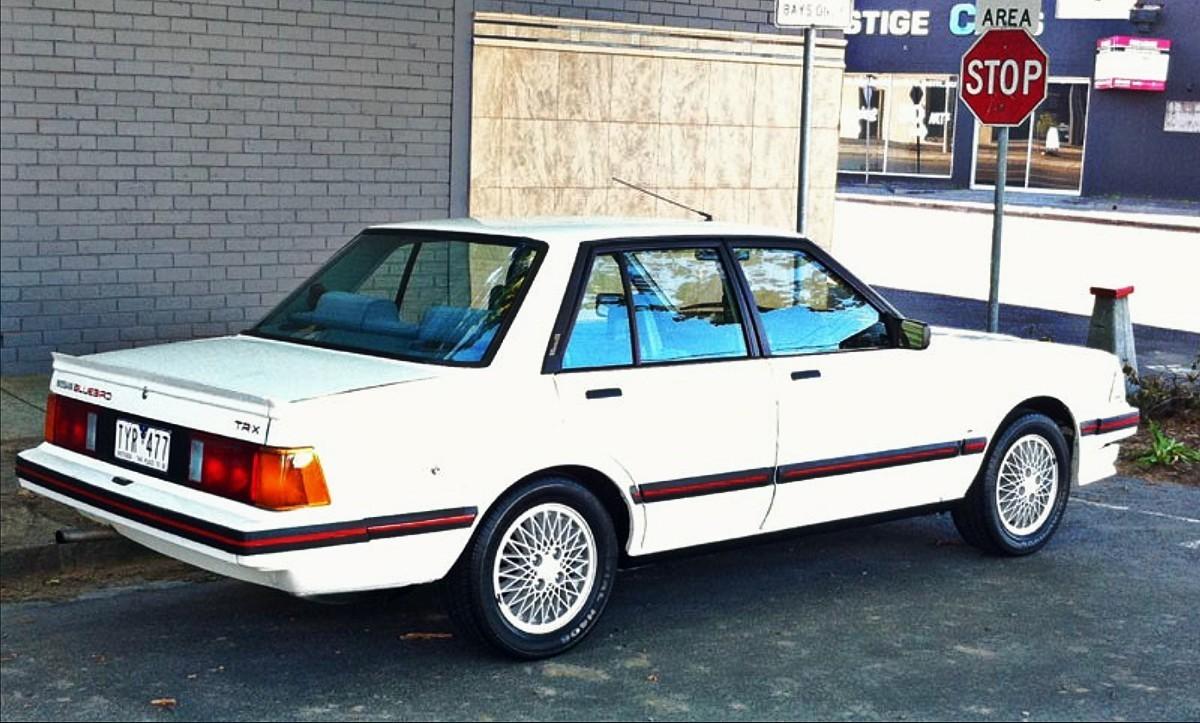1980s Nissan Bluebird TR X sedan 9
