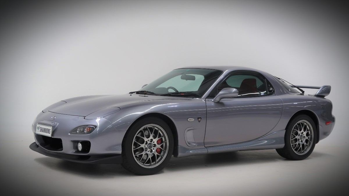 2002 Mazda RX 7 Spirit R Type A Coupe 13