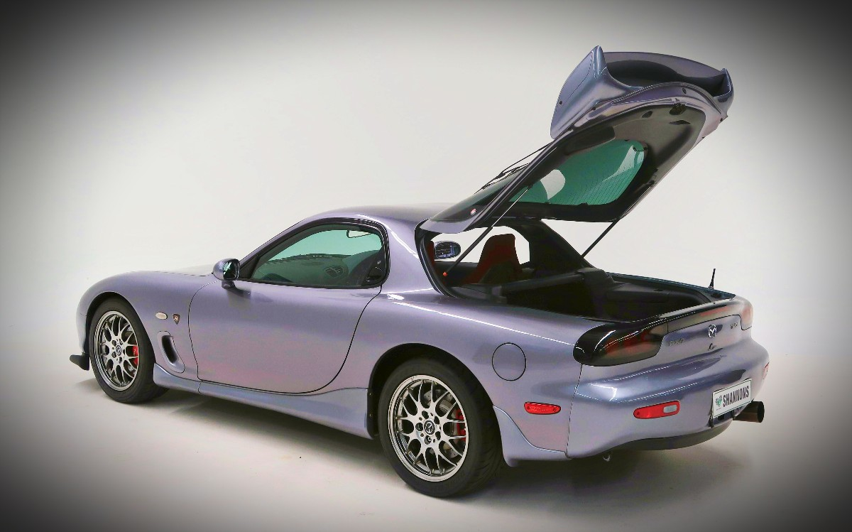 2002 Mazda RX 7 Spirit R Type A Coupe 16