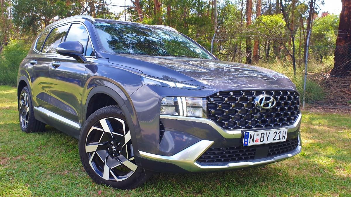 2021 Hyundai Santa Fe Elite 9