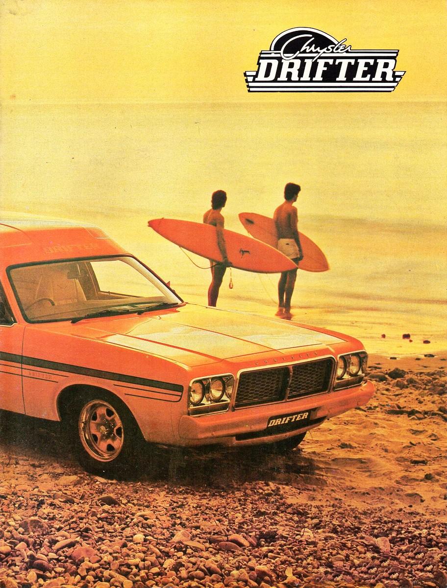 Chrysler Drifter advertisement