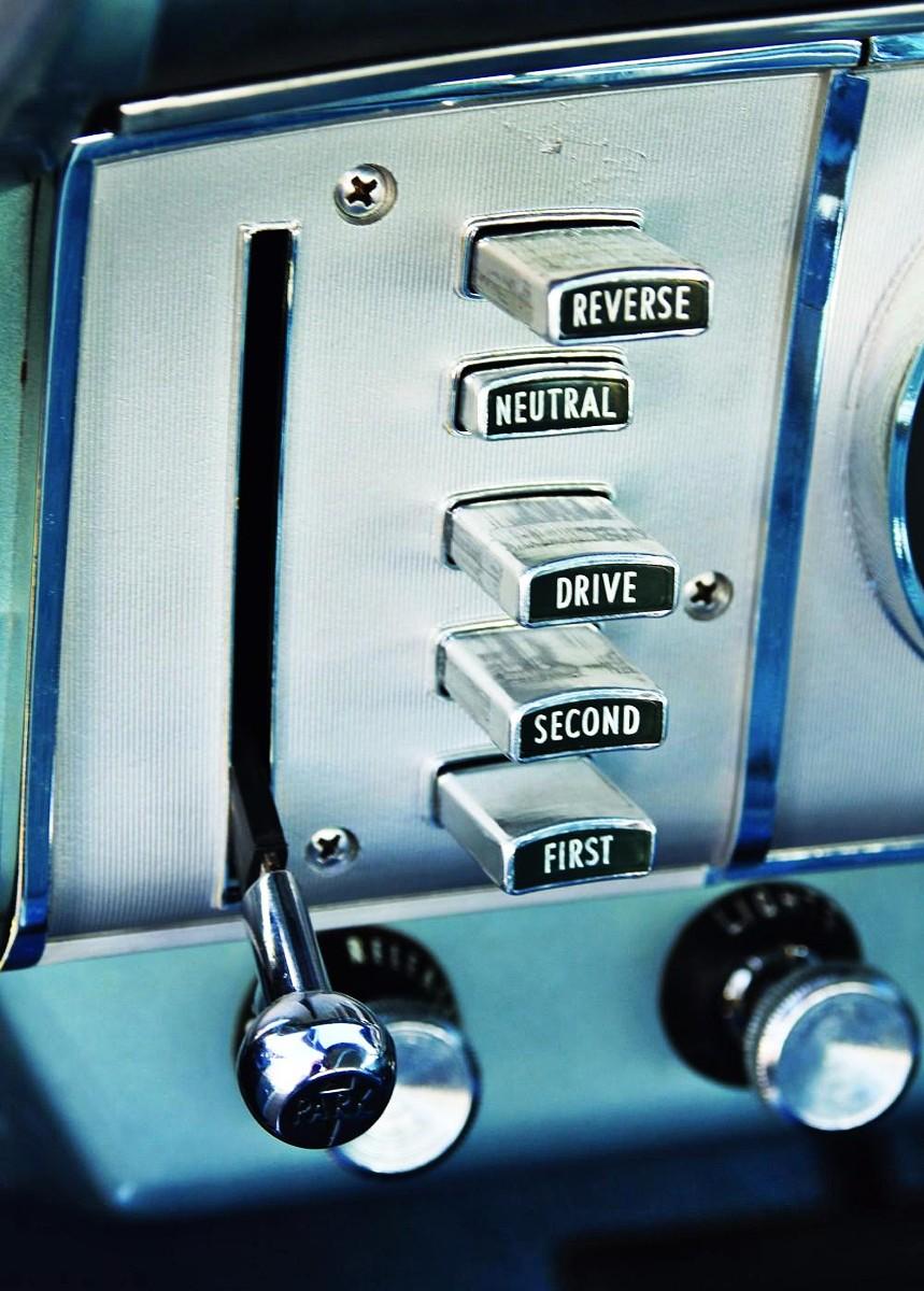 Chrysler push buttons 1