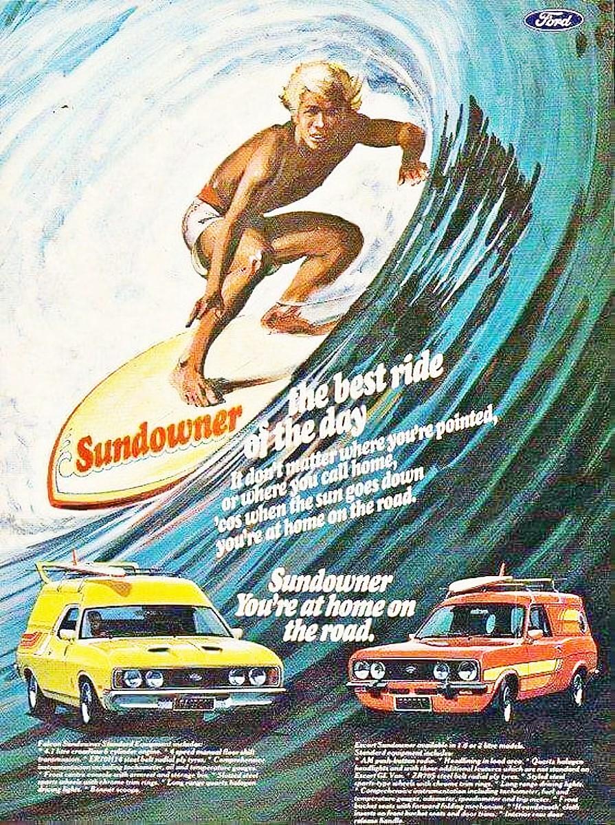 Ford Falcon Sundowner brochure