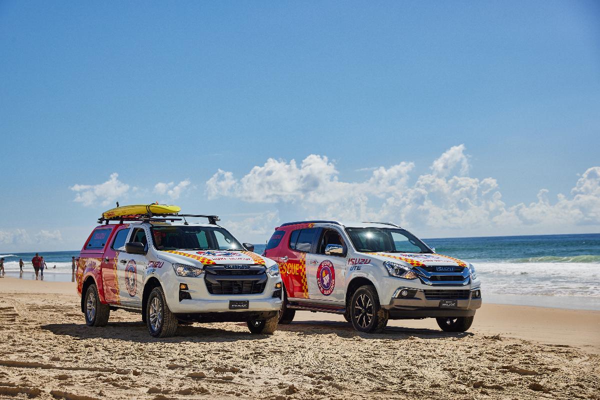 Isuzu partners with Surf Life Saving Australia 2