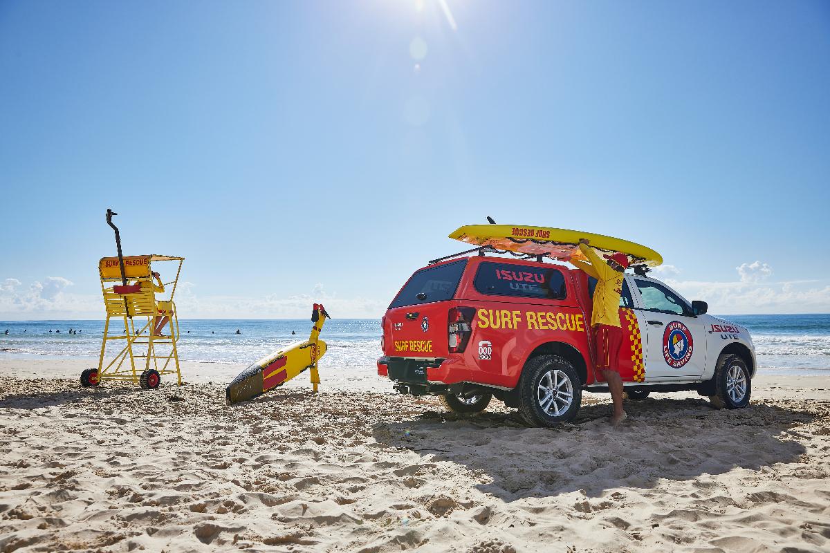 Isuzu partners with Surf Life Saving Australia 4