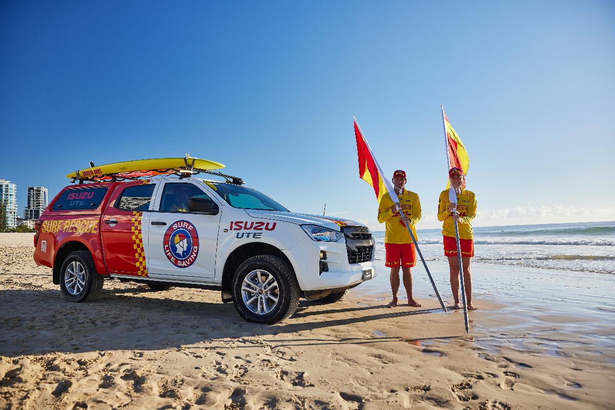 Isuzu partners with Surf Life Saving Australia 5