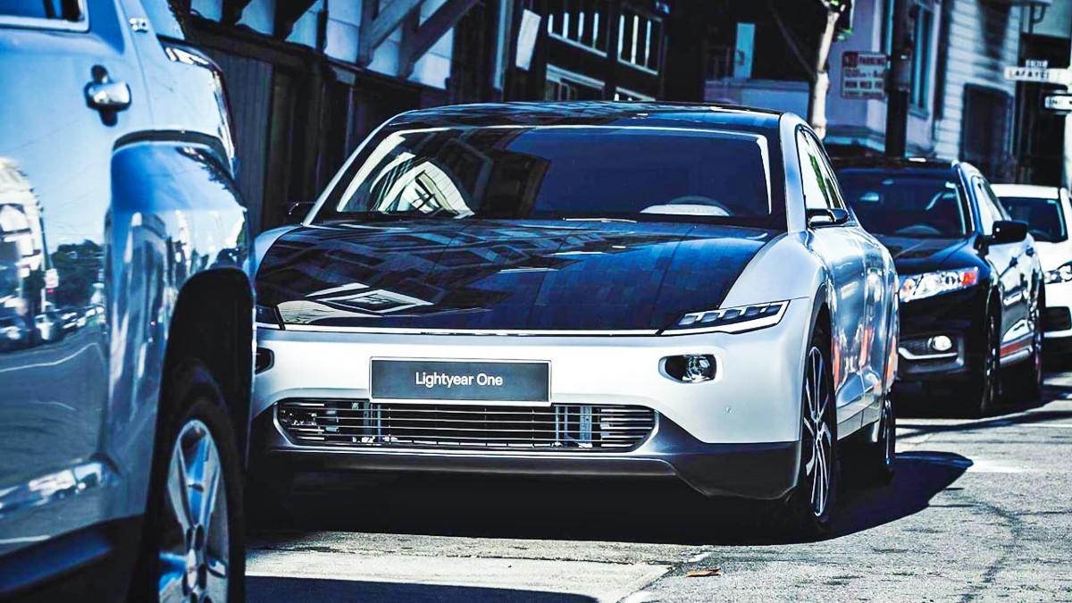 Lightyear One solar powered car 8
