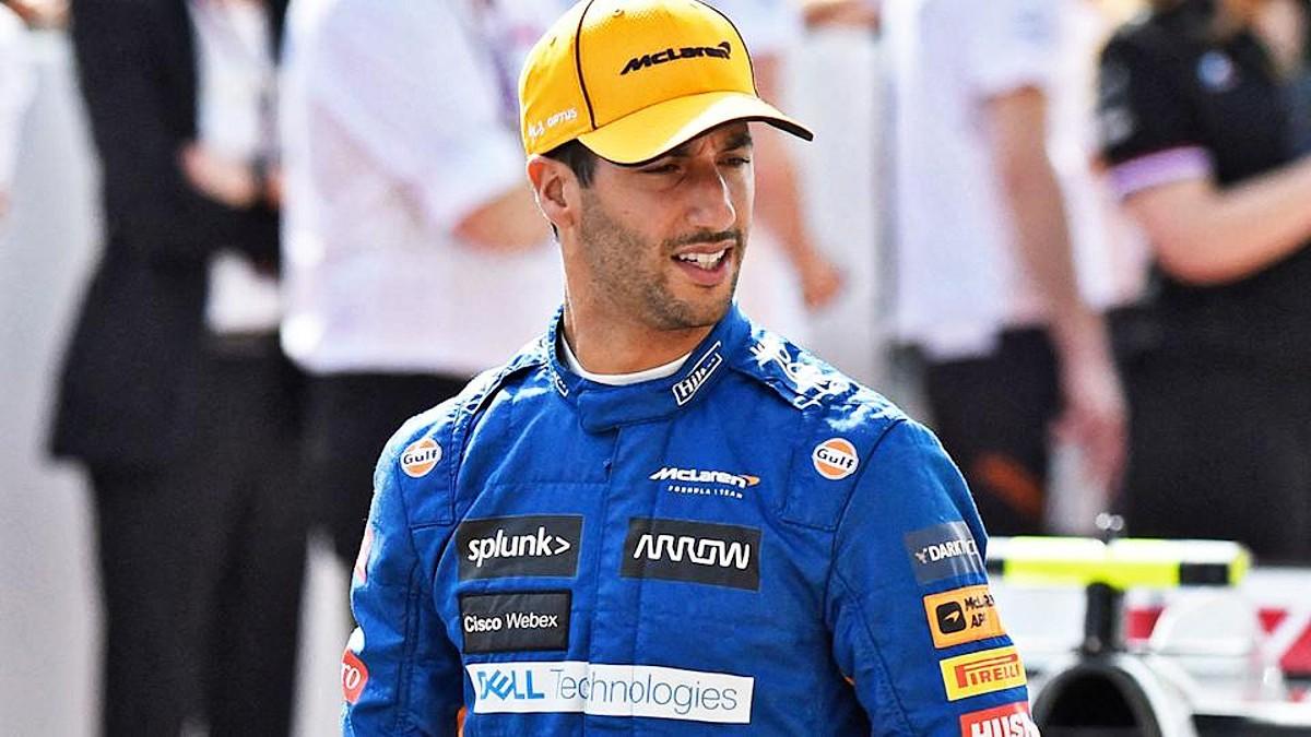 McLaren Daniel Ricciardo