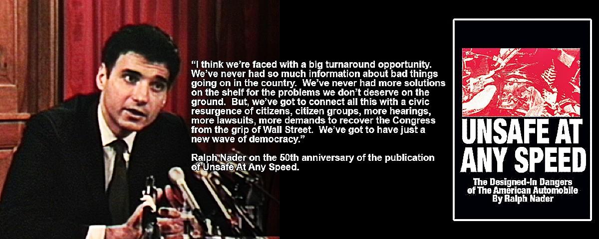 Nader 50th anniversary