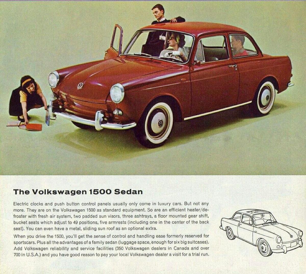 VW 1500 sedan